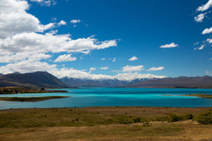 A day with great weather in Lake Tepako – New Zealand
